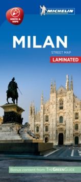 Milan - Michelin City Map 9213 : Laminated City Plan, Sheet map Book