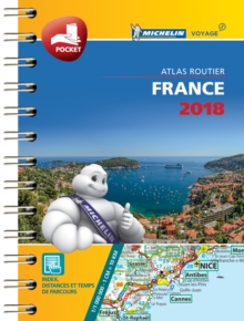 France Mini Atlas: 2018, Spiral bound Book