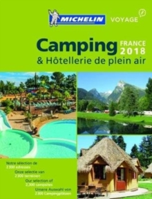 Camping Guide France 2018, Paperback Book