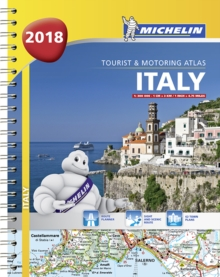Italy - Tourist and Motoring Atlas 2018 (A4-Spiral), Spiral bound Book