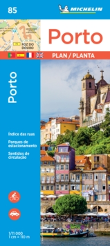 Porto - Michelin City Plan 85 : City Plans, Sheet map Book