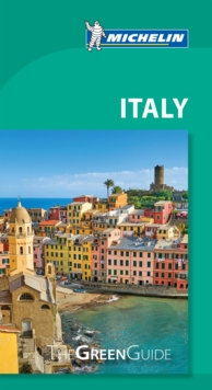Michelin Green Guide Italy (Travel Guide), Paperback Book