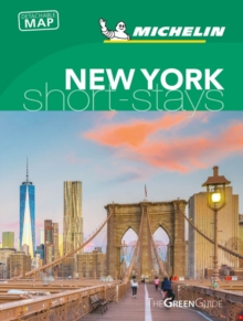 Michelin Green Guide Short Stays New York City, Paperback / softback Book