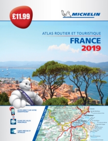 France 2019 - PB Tourist & Motoring Atlas : Tourist & Motoring Atlas A4, Paperback / softback Book