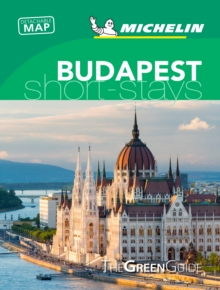 Budapest- Michelin Green Guide Short Stays : Short Stay, Paperback / softback Book