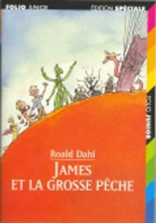 James et la grosse peche, Paperback / softback Book