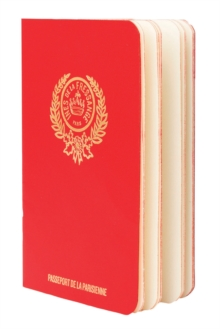 Parisian Chic Passport (red), Novelty book Book