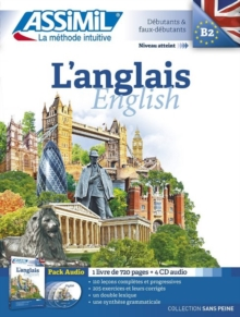 L'Anglais  (Book & 4 Audio Cds), Mixed media product Book