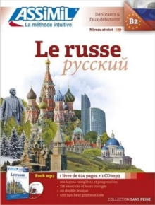Le Russe Pack mp3 (livre+1CD mp3), Mixed media product Book