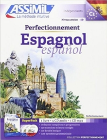 Superpack perfectionnement Espagnol (livre+4 Cd audio+1Cd mp3), Mixed media product Book