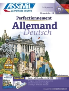 Perfectionnement Allemand Superpack (Book, 4CD audio + 1USB), Mixed media product Book