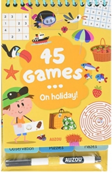 45 Games... on Holidays!, Mixed media product Book