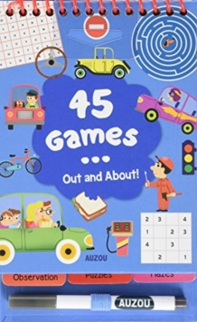 45 Games... Out and About, Mixed media product Book