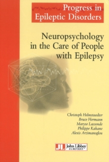 Neuropsychology in the Care of People with Epilepsy, Hardback Book