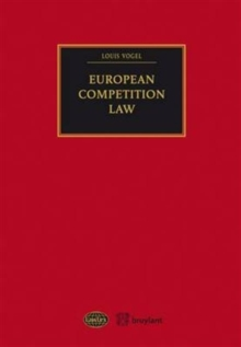 European Competition Law, Paperback Book