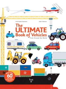 Ultimate Book of Vehicles, Board book Book