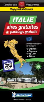 Italy Motorhome Stopovers : Trailers Park Maps, Sheet map Book