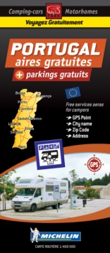 Portugal Motorhome Stopovers : Trailers Park Maps, Sheet map Book
