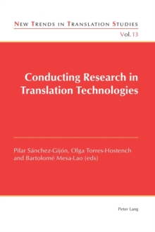 Conducting Research in Translation Technologies, Paperback / softback Book
