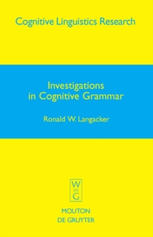 Investigations in Cognitive Grammar, PDF eBook
