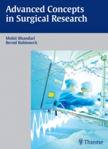 Advanced Concepts in Surgical Research, Hardback Book