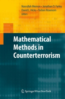 Mathematical Methods in Counterterrorism, Hardback Book