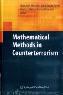 Mathematical Methods in Counterterrorism, PDF eBook