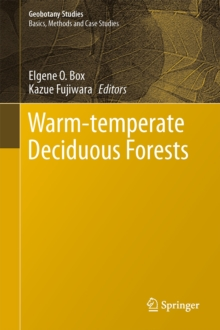 Warm-temperate Deciduous Forests Around the Northern Hemisphere, Hardback Book