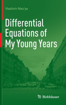 Differential Equations of My Young Years, Hardback Book