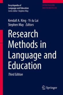 Research Methods in Language and Education, Hardback Book