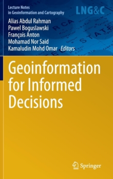 Geoinformation for Informed Decisions, Hardback Book