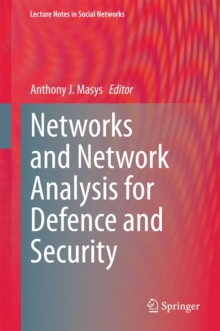 Networks and Network Analysis for Defence and Security, Hardback Book
