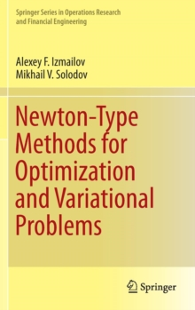 Newton-Type Methods for Optimization and Variational Problems, Hardback Book