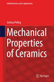 Mechanical Properties of Ceramics, Hardback Book