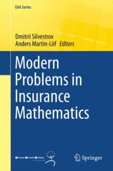 Modern Problems in Insurance Mathematics, Paperback / softback Book