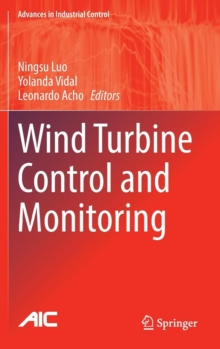 Wind Turbine Control and Monitoring, Hardback Book