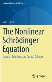 The Nonlinear Schroedinger Equation : Singular Solutions and Optical Collapse, Hardback Book