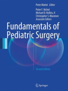 Fundamentals of Pediatric Surgery : Second Edition, Hardback Book