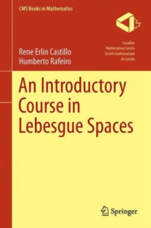 An Introductory Course in Lebesgue Spaces, Hardback Book