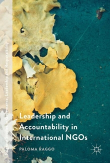 Leadership and Accountability in International NGOs, Hardback Book