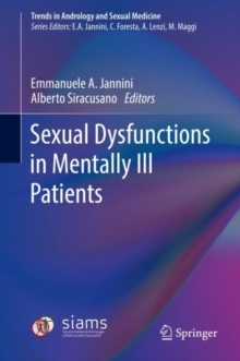 Sexual Dysfunctions in Mentally Ill Patients, Hardback Book