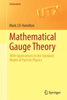 Mathematical Gauge Theory : With Applications to the Standard Model of Particle Physics, Paperback Book