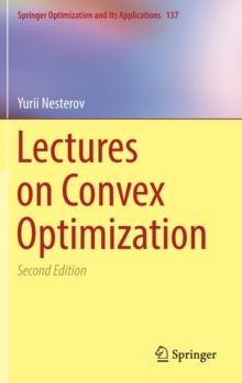 Lectures on Convex Optimization, Hardback Book