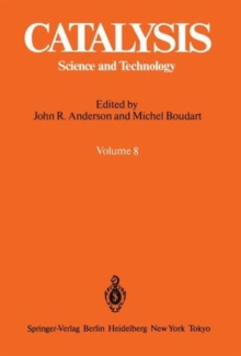 Catalysis : Science and Technology 8, Hardback Book