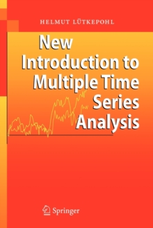 New Introduction to Multiple Time Series Analysis, Paperback Book