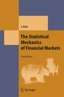 The Statistical Mechanics of Financial Markets, Hardback Book