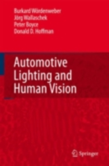 Automotive Lighting and Human Vision, PDF eBook