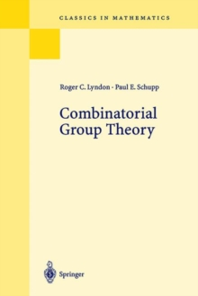 Combinatorial Group Theory, Paperback / softback Book