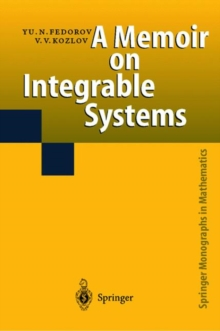 A Memoir on Integrable Systems, Hardback Book