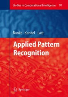 Applied Pattern Recognition, Hardback Book